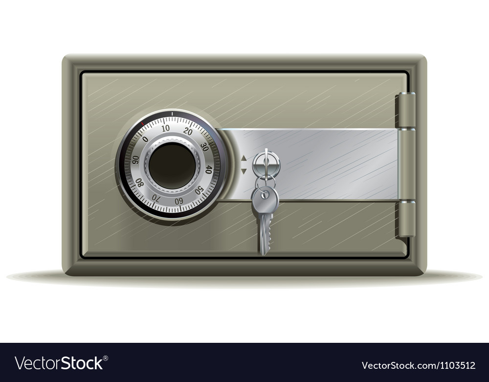 Safe deposit vector | Price: 3 Credit (USD $3)