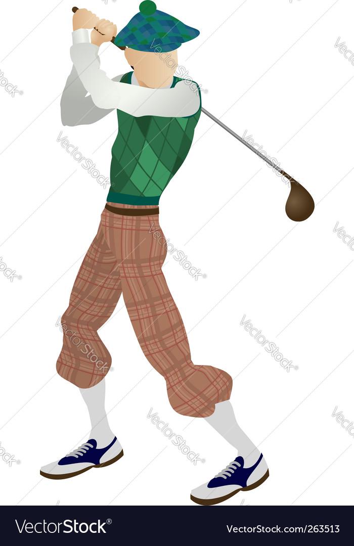 Golfer vector   Price: 1 Credit (USD $1)