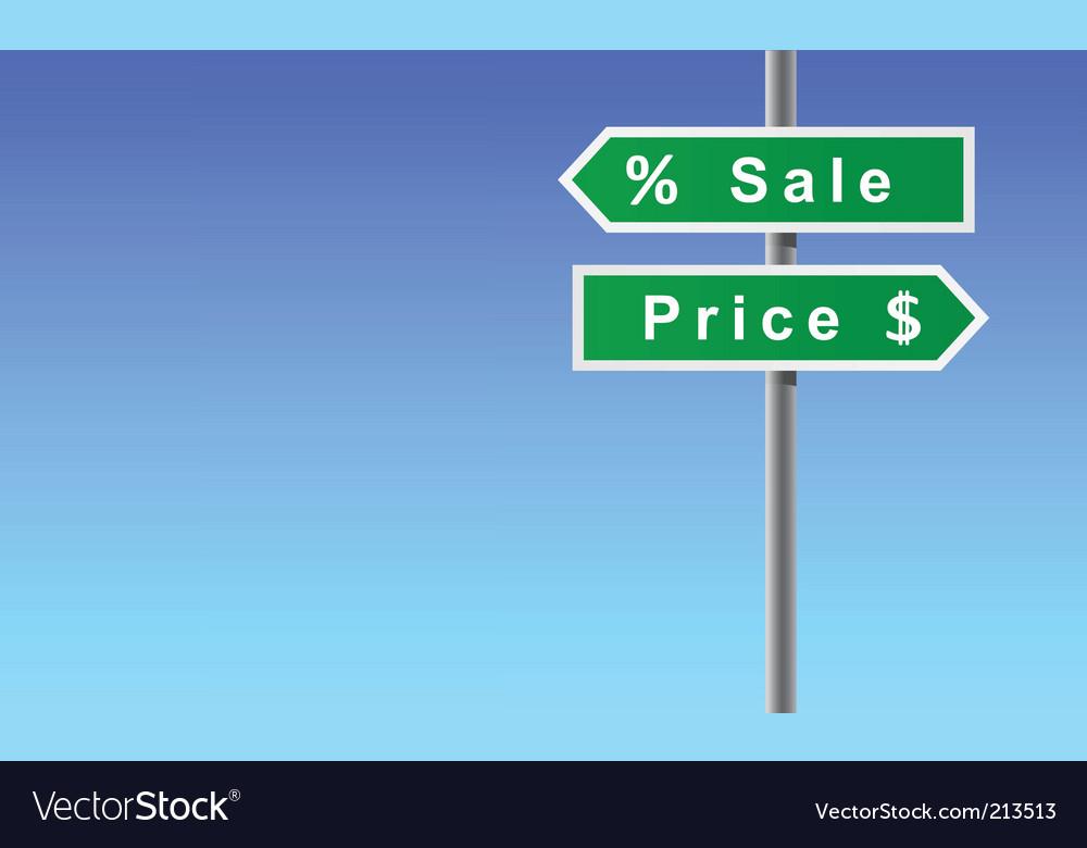 Signs vector | Price: 1 Credit (USD $1)