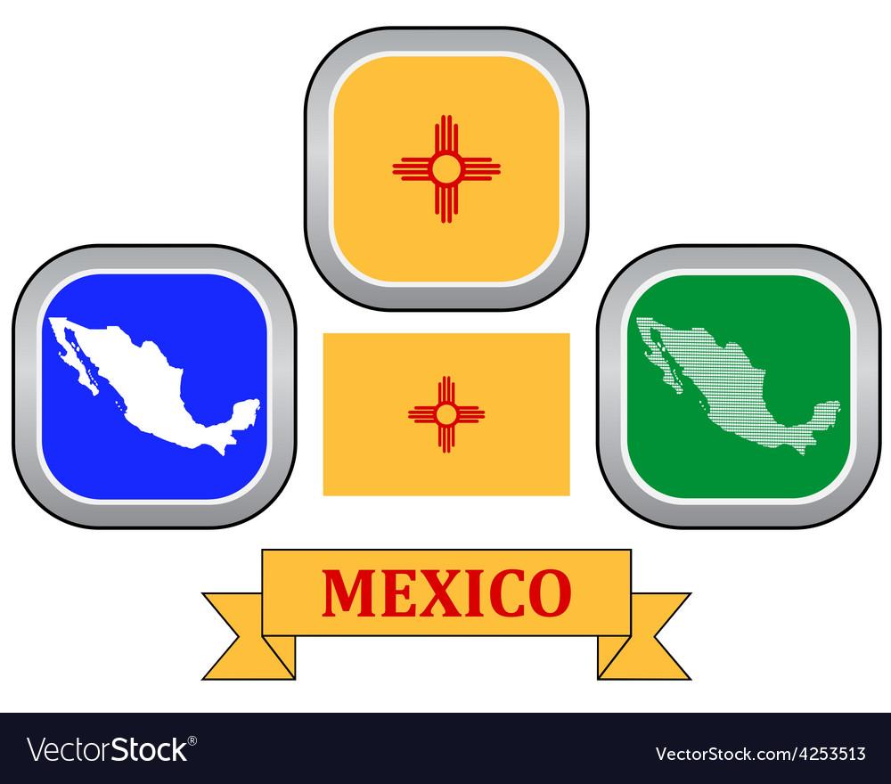 Symbol of mexico vector | Price: 1 Credit (USD $1)