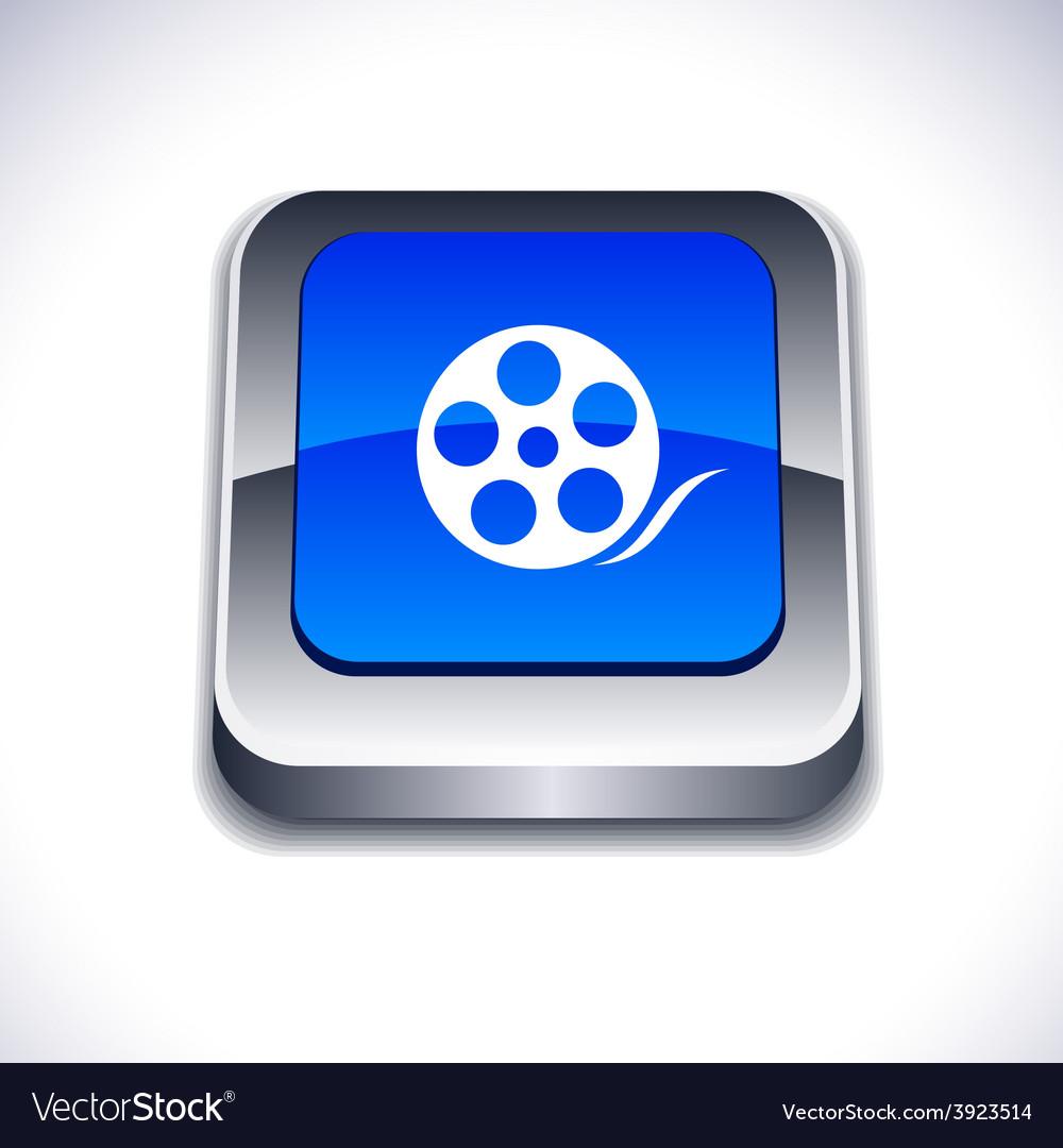 Media 3d button vector | Price: 1 Credit (USD $1)