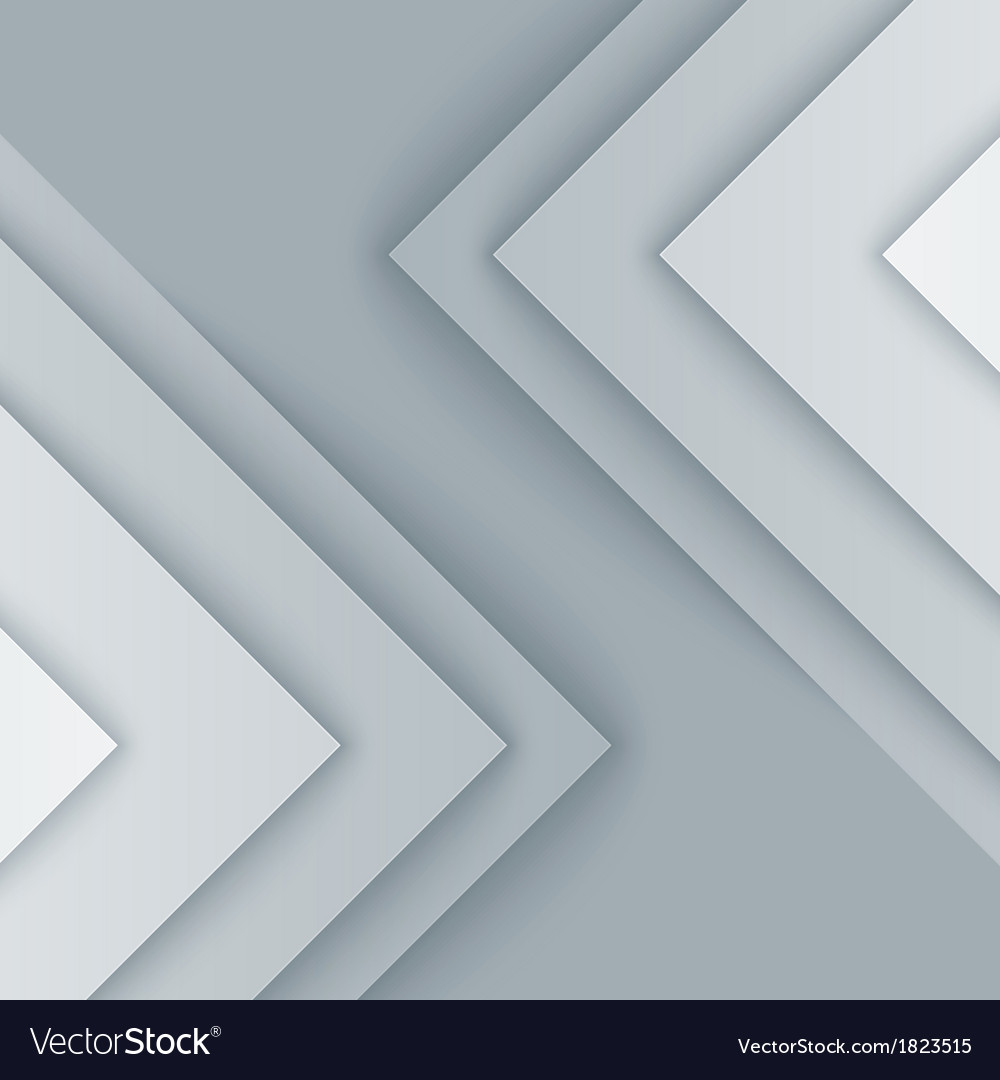 Abstract gray and white triangle shapes background vector | Price: 1 Credit (USD $1)