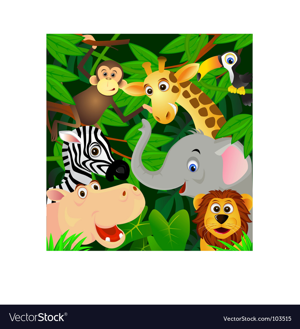 Animals vector | Price: 3 Credit (USD $3)
