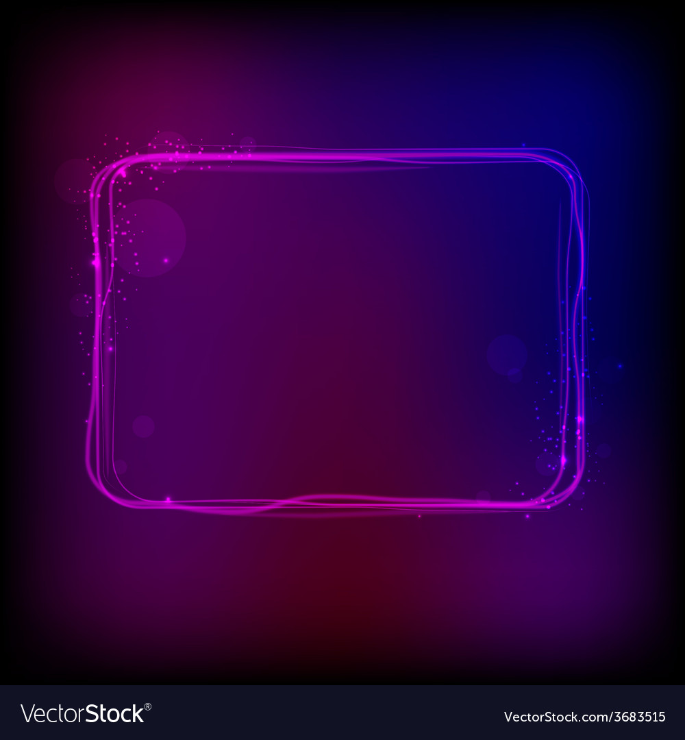 Glowing frame against dark background vector | Price: 1 Credit (USD $1)