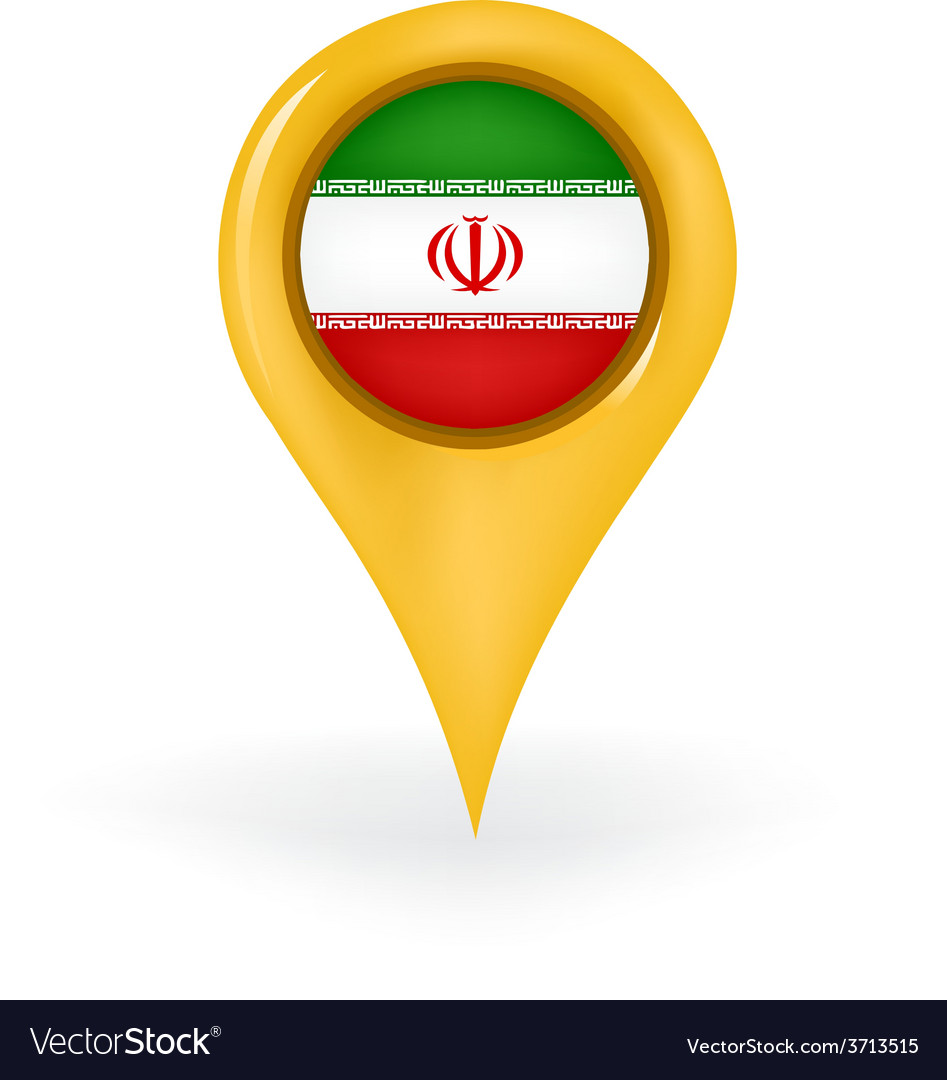 Location iran vector | Price: 1 Credit (USD $1)