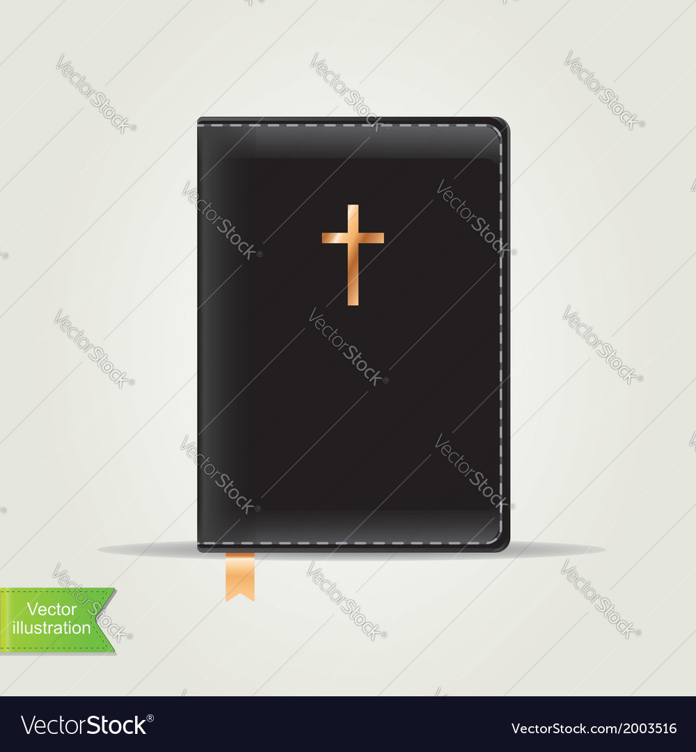 Bible book vector | Price: 1 Credit (USD $1)