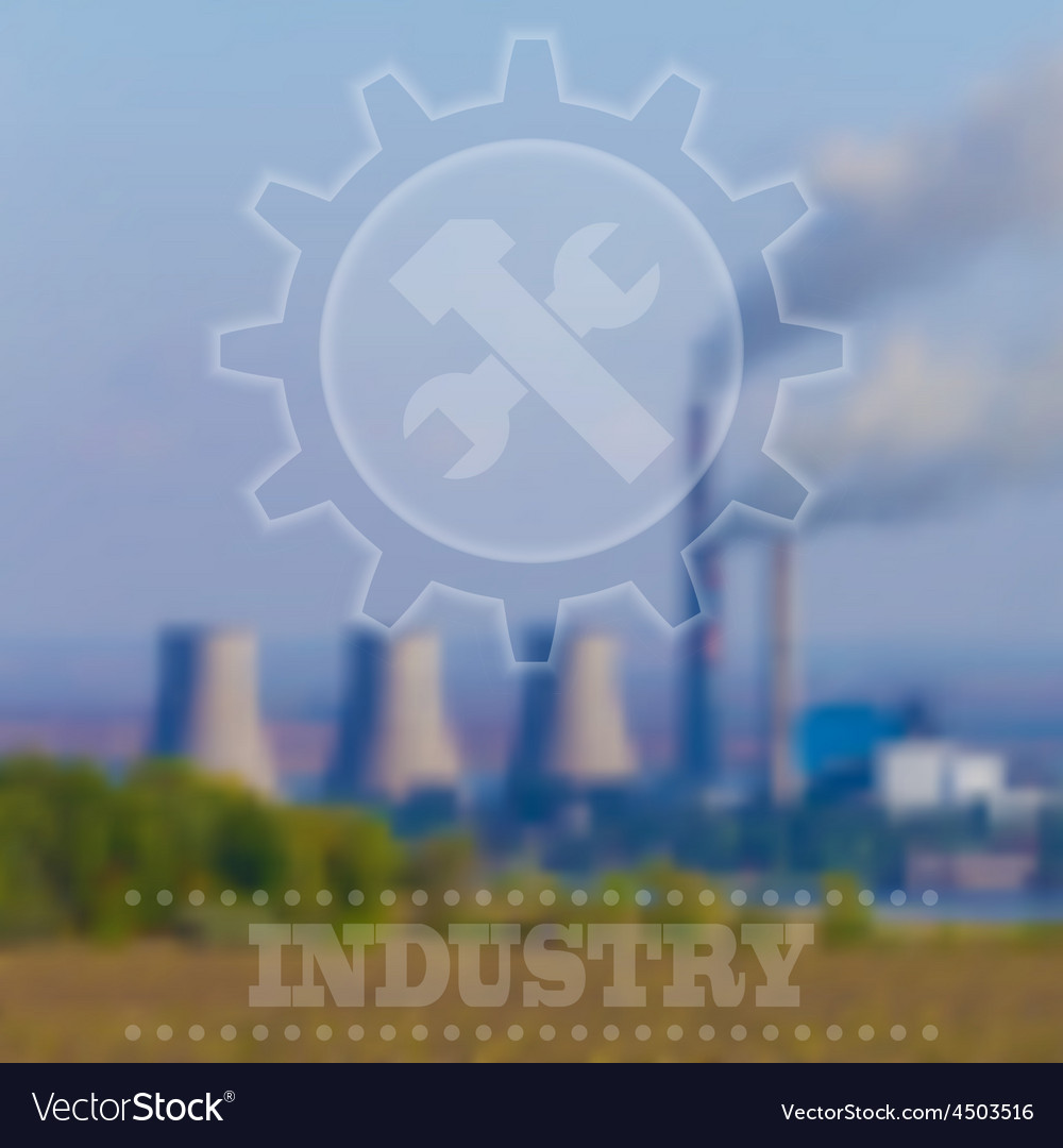 Blurry industrial background interface tem vector | Price: 1 Credit (USD $1)