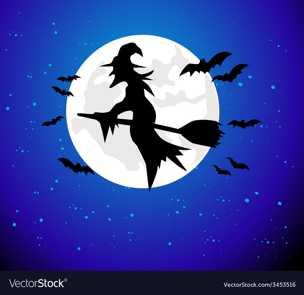 Halloween silhouette vector | Price: 1 Credit (USD $1)