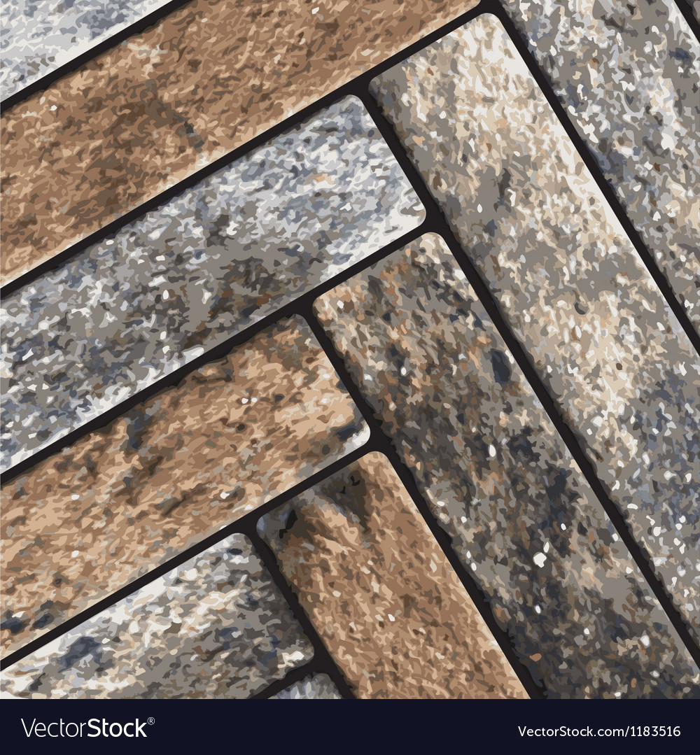 Stone pavement texture vector | Price: 1 Credit (USD $1)