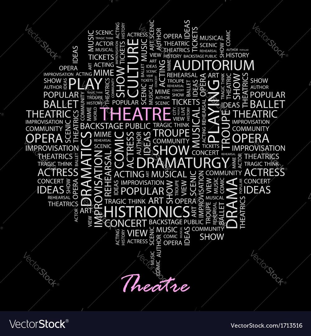 Theatre vector | Price: 1 Credit (USD $1)