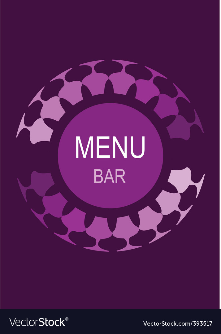 Bar menu vector | Price: 1 Credit (USD $1)