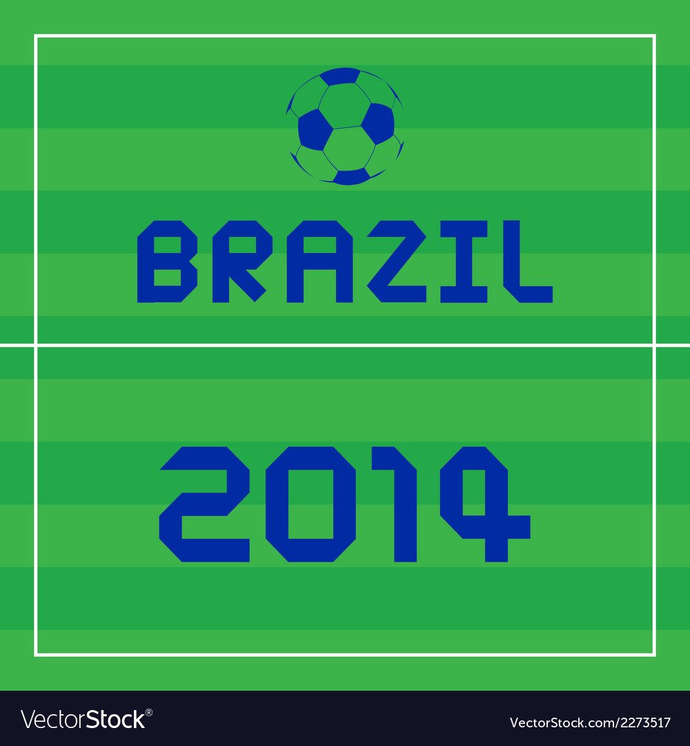 Brazil2014 background2 vector | Price: 1 Credit (USD $1)