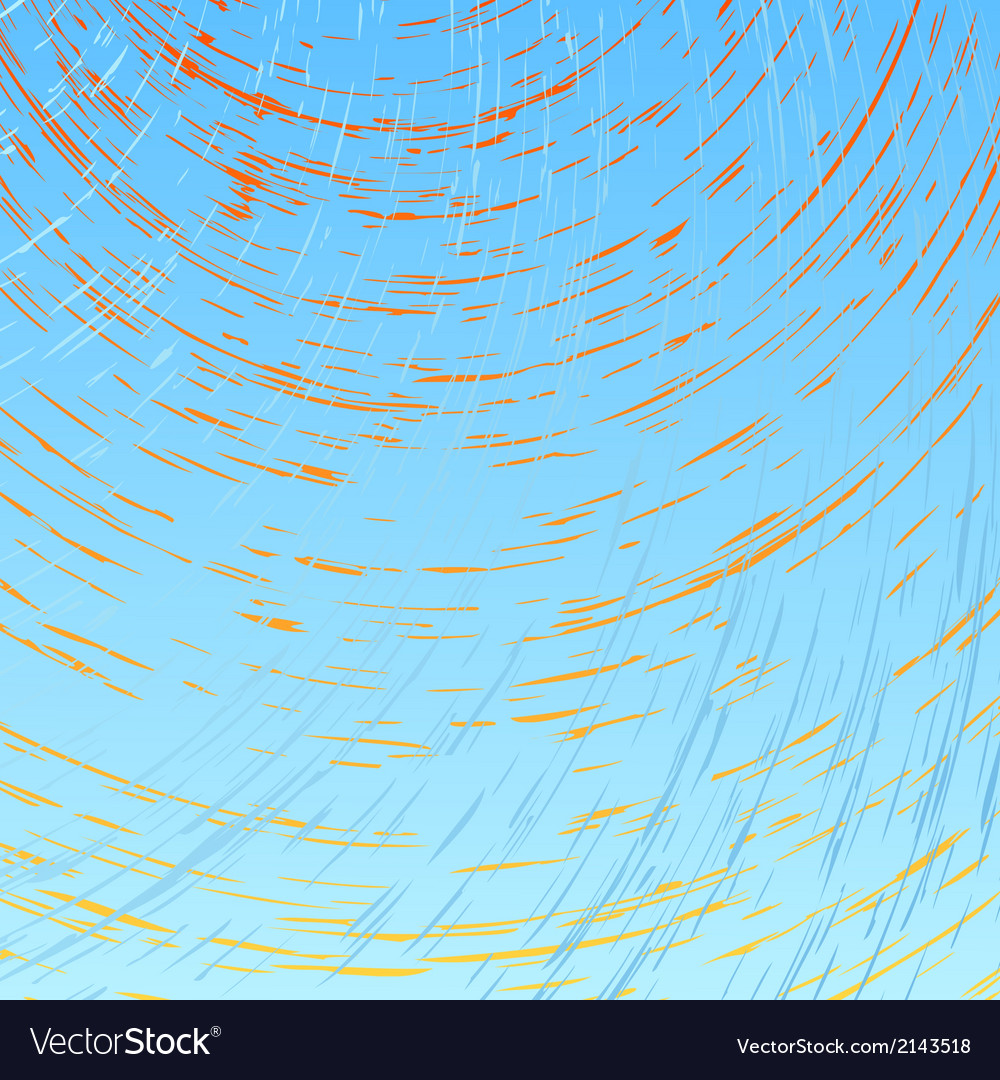 Abstract sun and wind vector | Price: 1 Credit (USD $1)