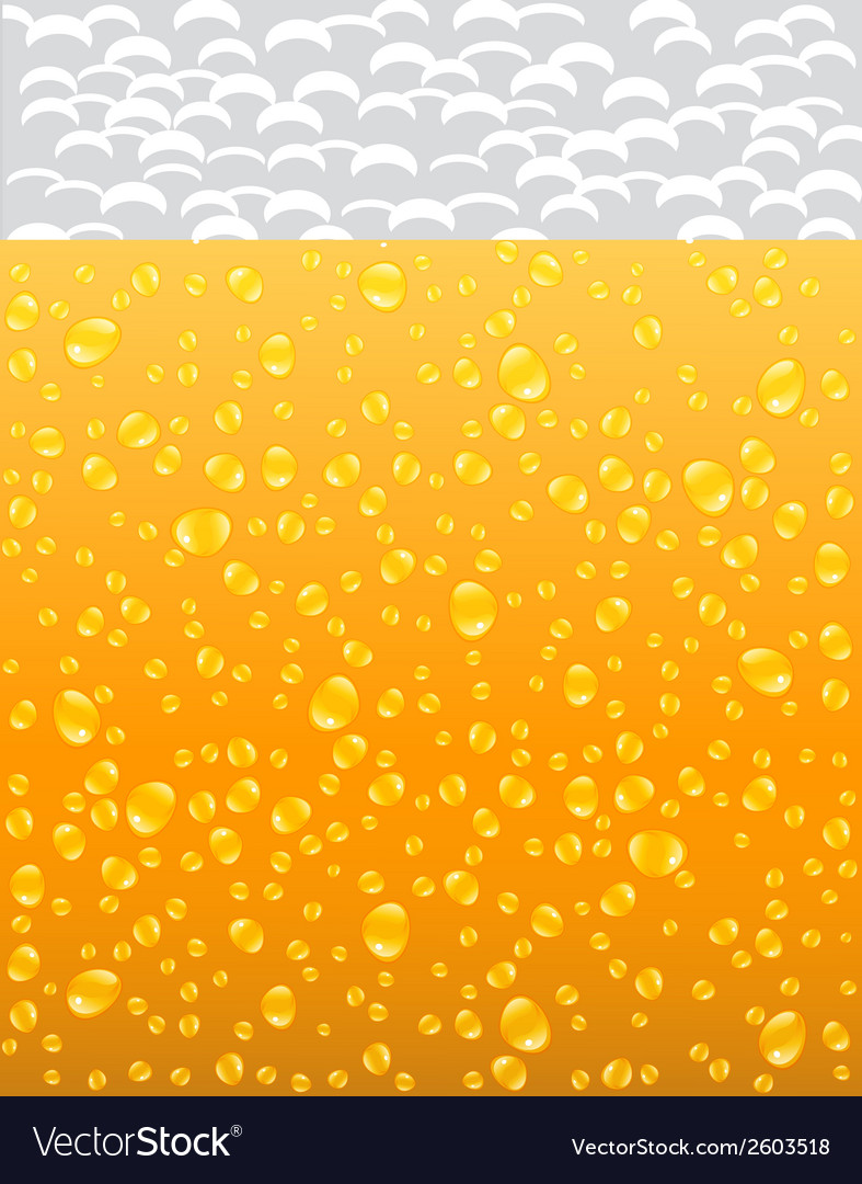 Background with beer and foam vector | Price: 1 Credit (USD $1)