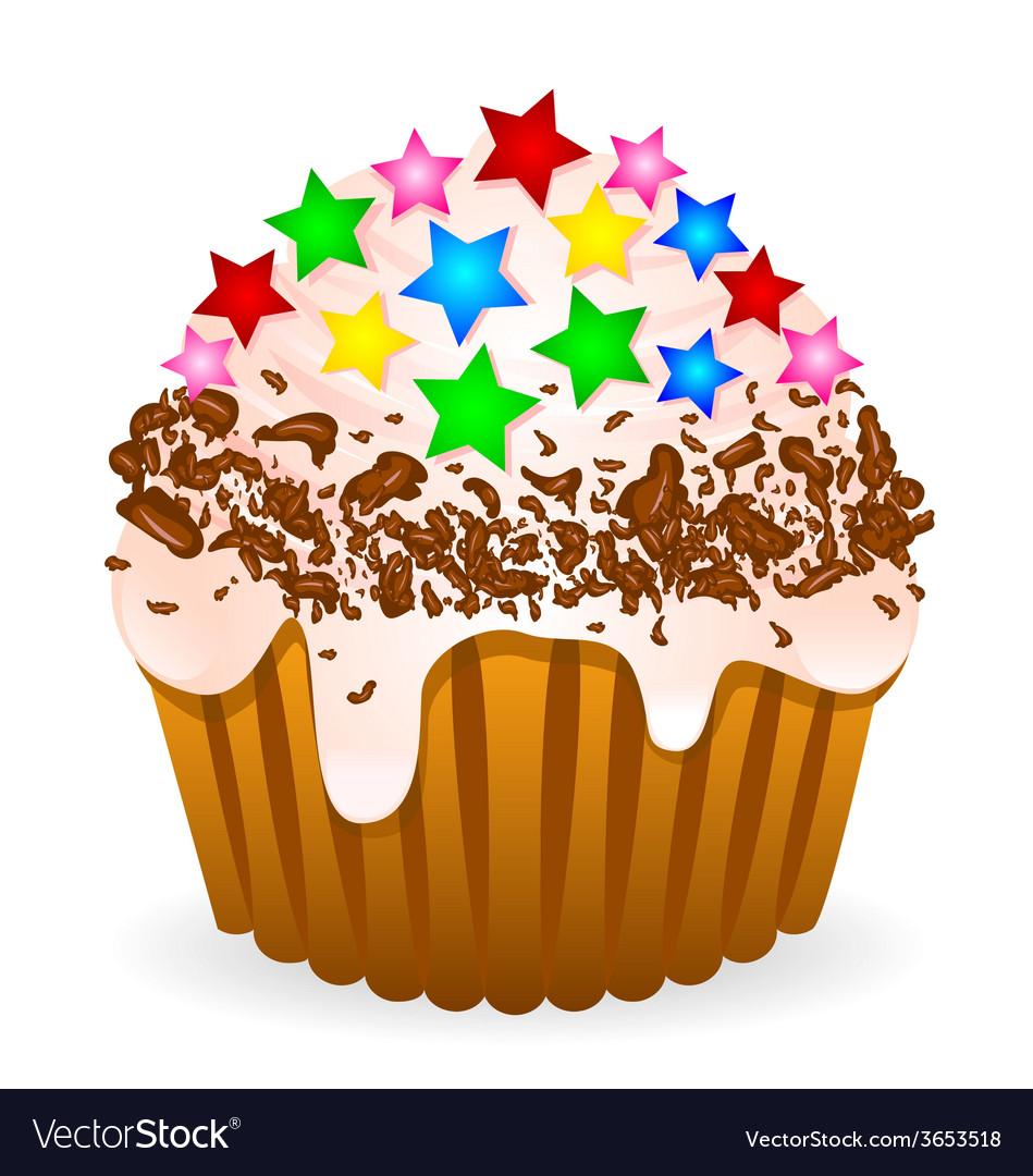 Delikate cake vector | Price: 1 Credit (USD $1)