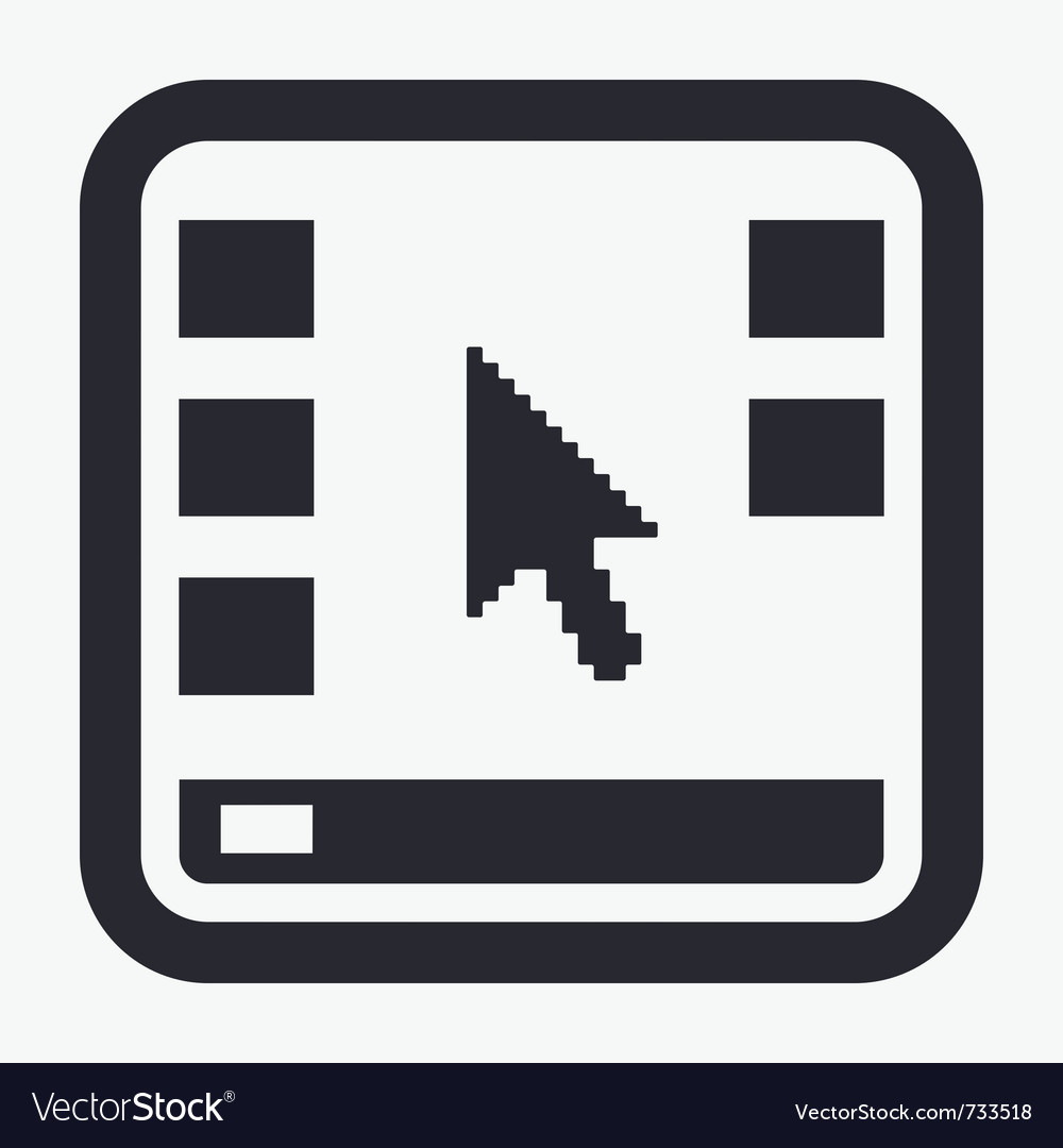 Desktop icon vector | Price: 1 Credit (USD $1)