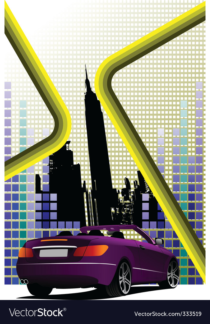 New york cityscape vector | Price: 1 Credit (USD $1)
