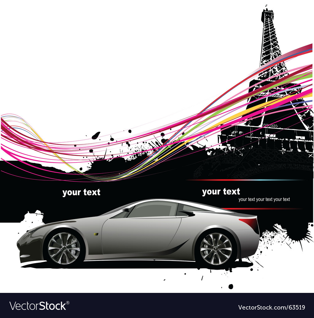 Paris background vector | Price: 3 Credit (USD $3)