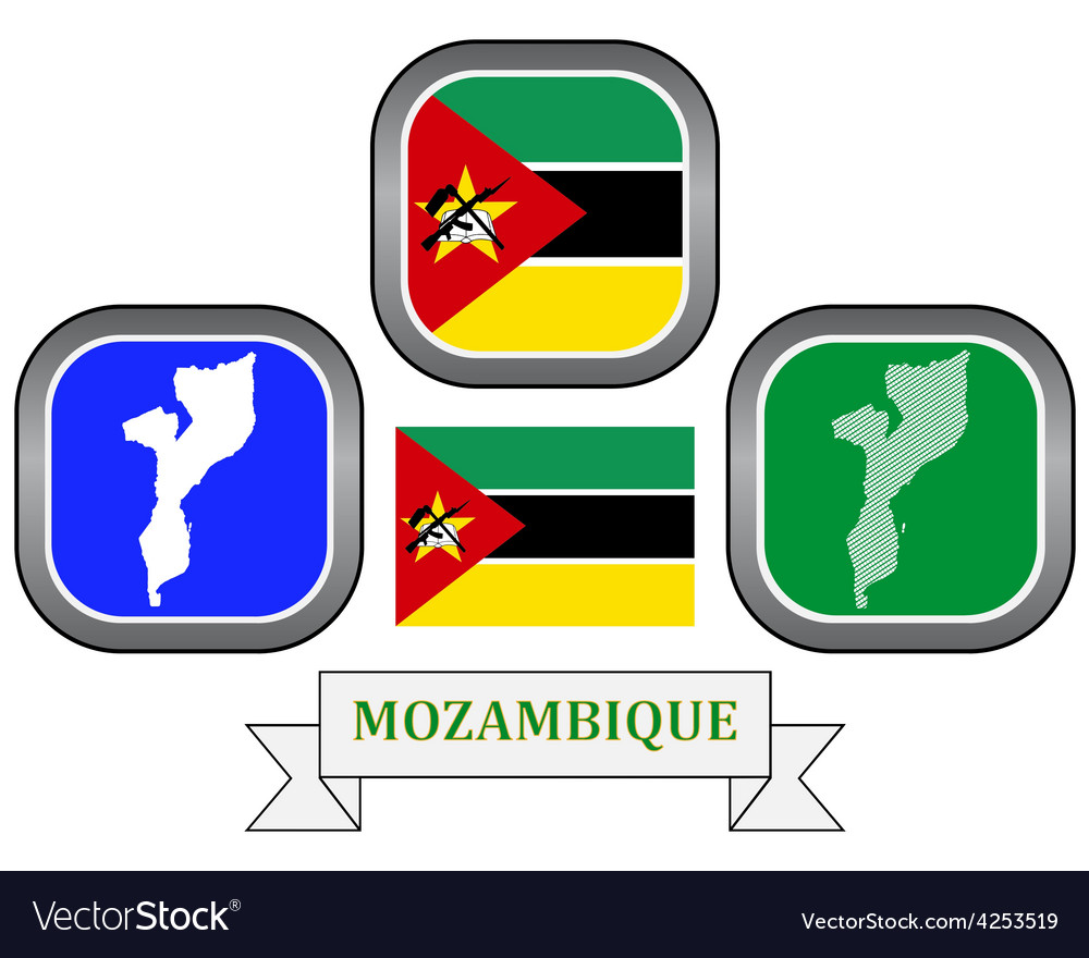 Symbol of mozambique vector | Price: 1 Credit (USD $1)