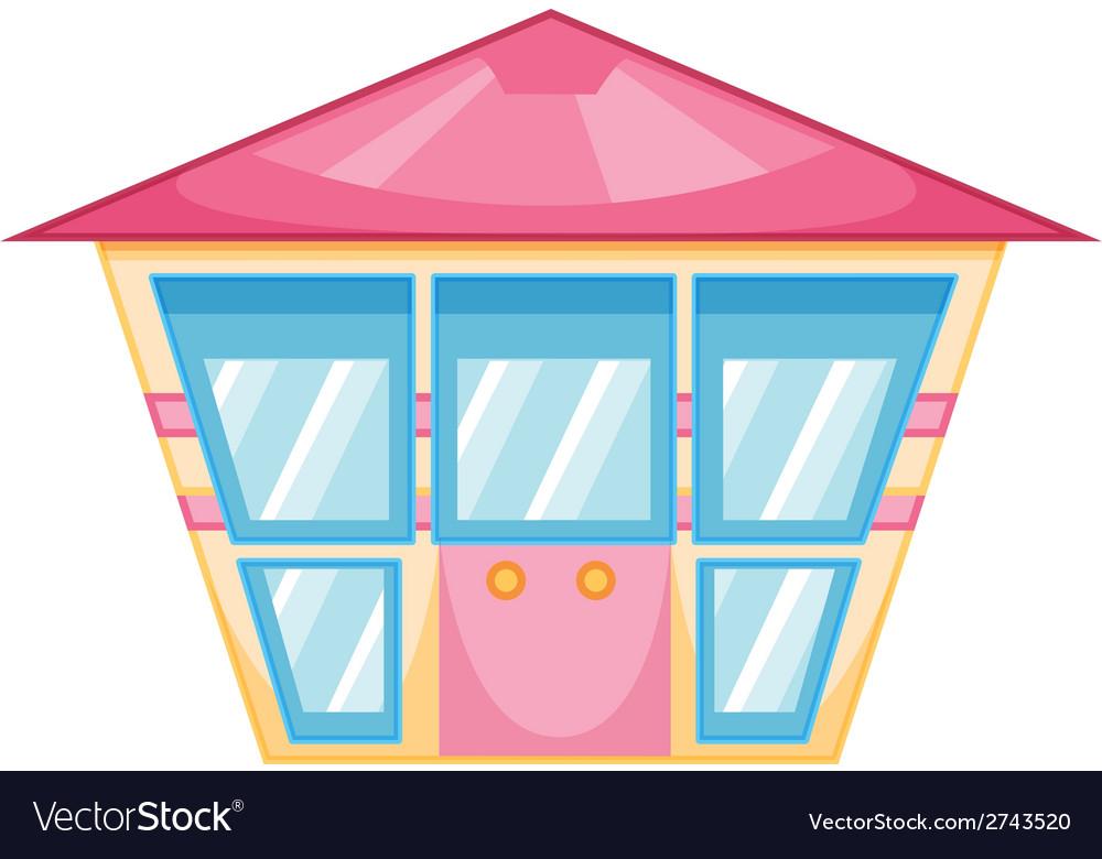 A simple building vector | Price: 1 Credit (USD $1)