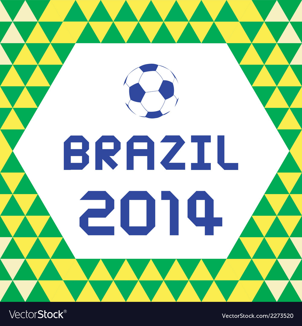 Brazil2014 background3 vector | Price: 1 Credit (USD $1)