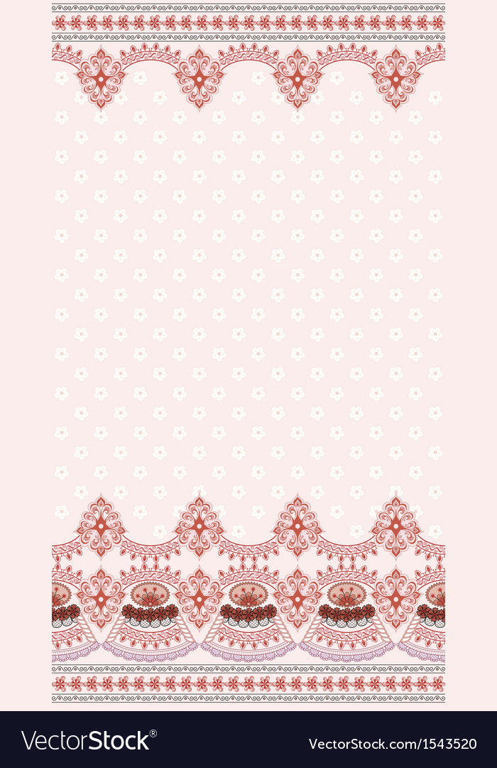 Light pink vintage card with a wide border vector | Price: 1 Credit (USD $1)