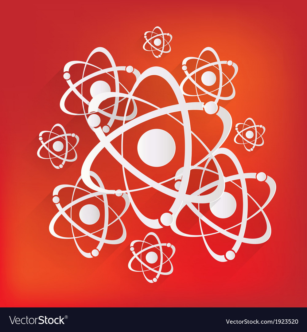 Molecule atom icon vector | Price: 1 Credit (USD $1)