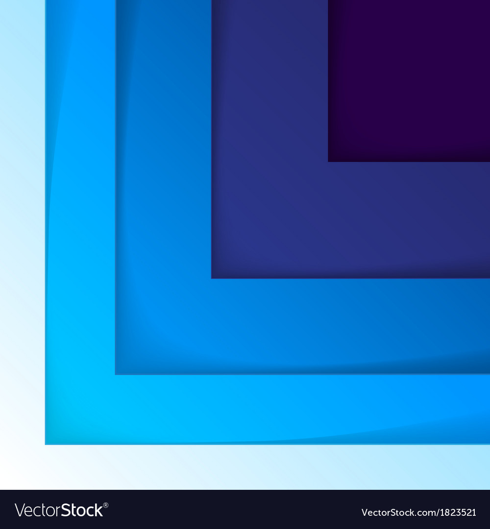 Abstract blue triangle shapes background vector | Price: 1 Credit (USD $1)