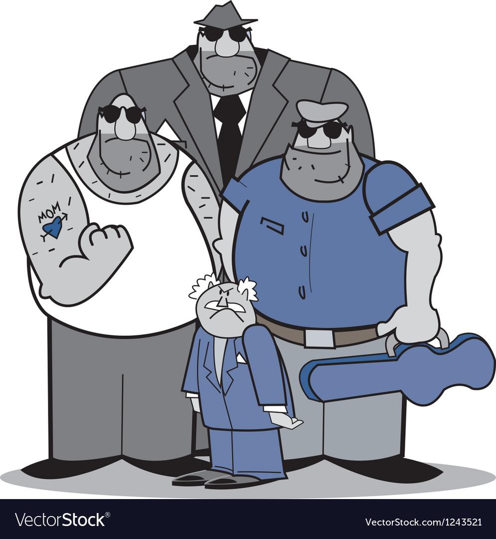 Mafia group vector | Price: 3 Credit (USD $3)