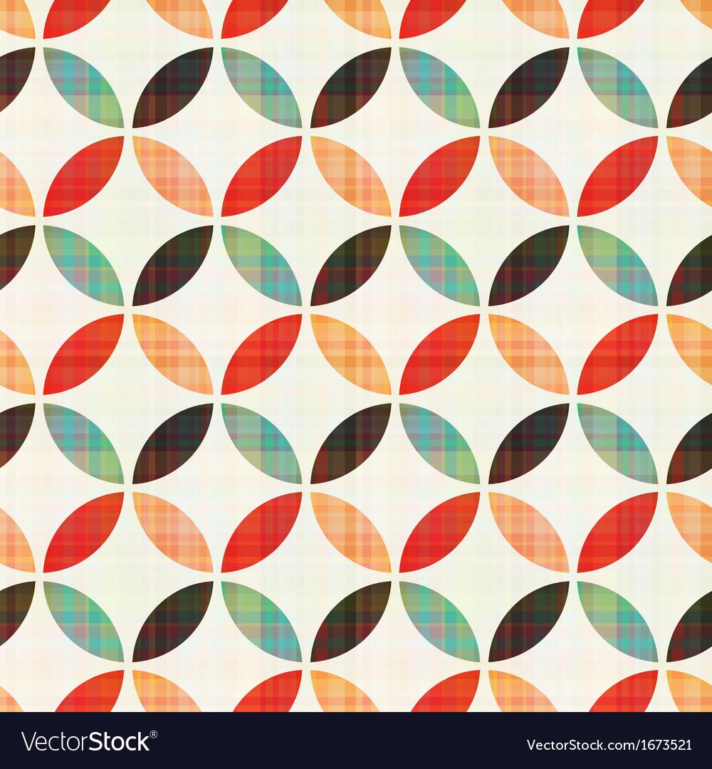 Seamless geometric circular pattern vector | Price: 1 Credit (USD $1)