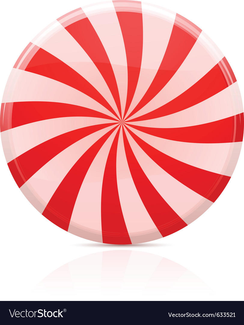 Striped sugar candy vector | Price: 1 Credit (USD $1)