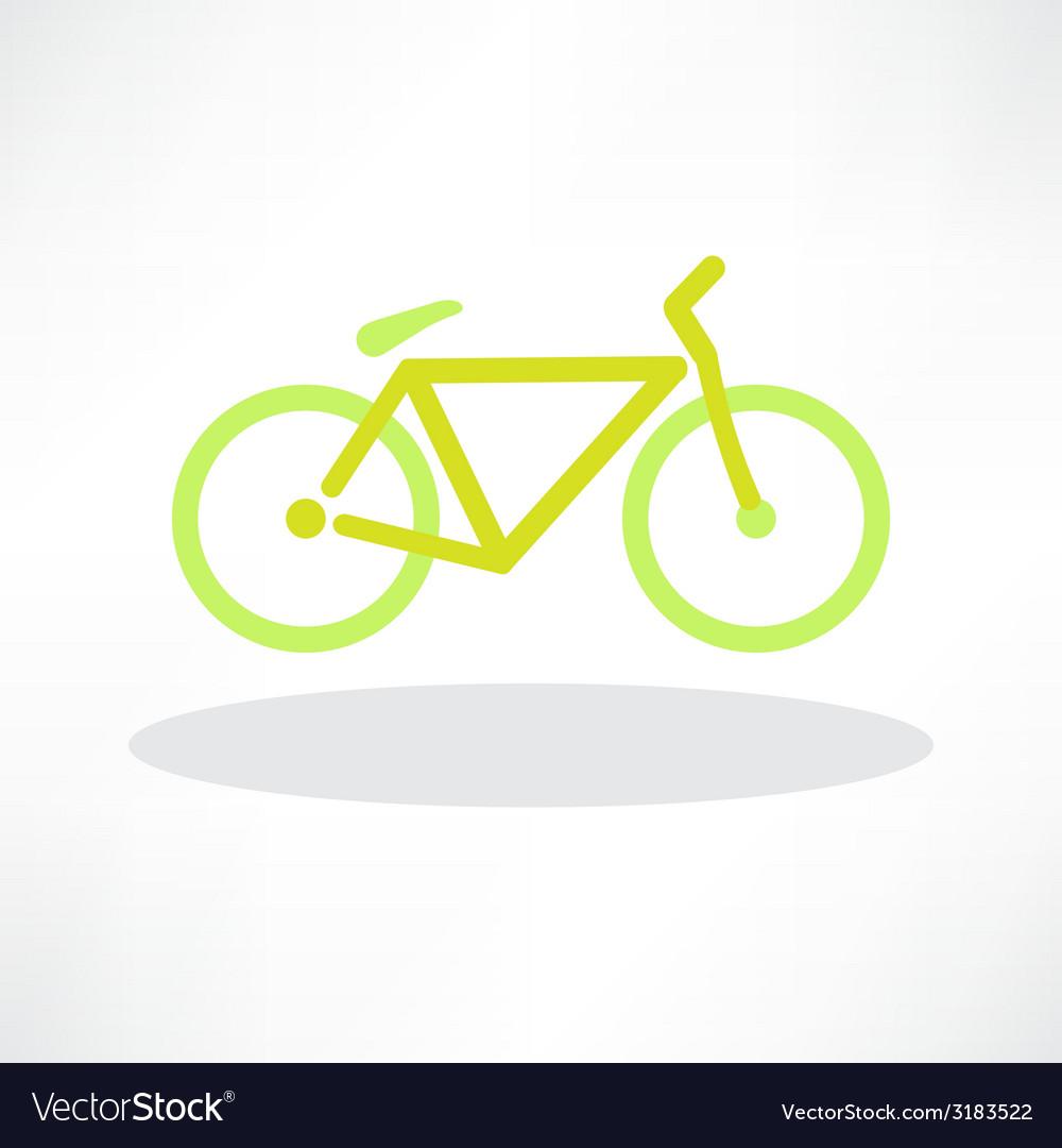 Bicycle icon symbol vector | Price: 1 Credit (USD $1)