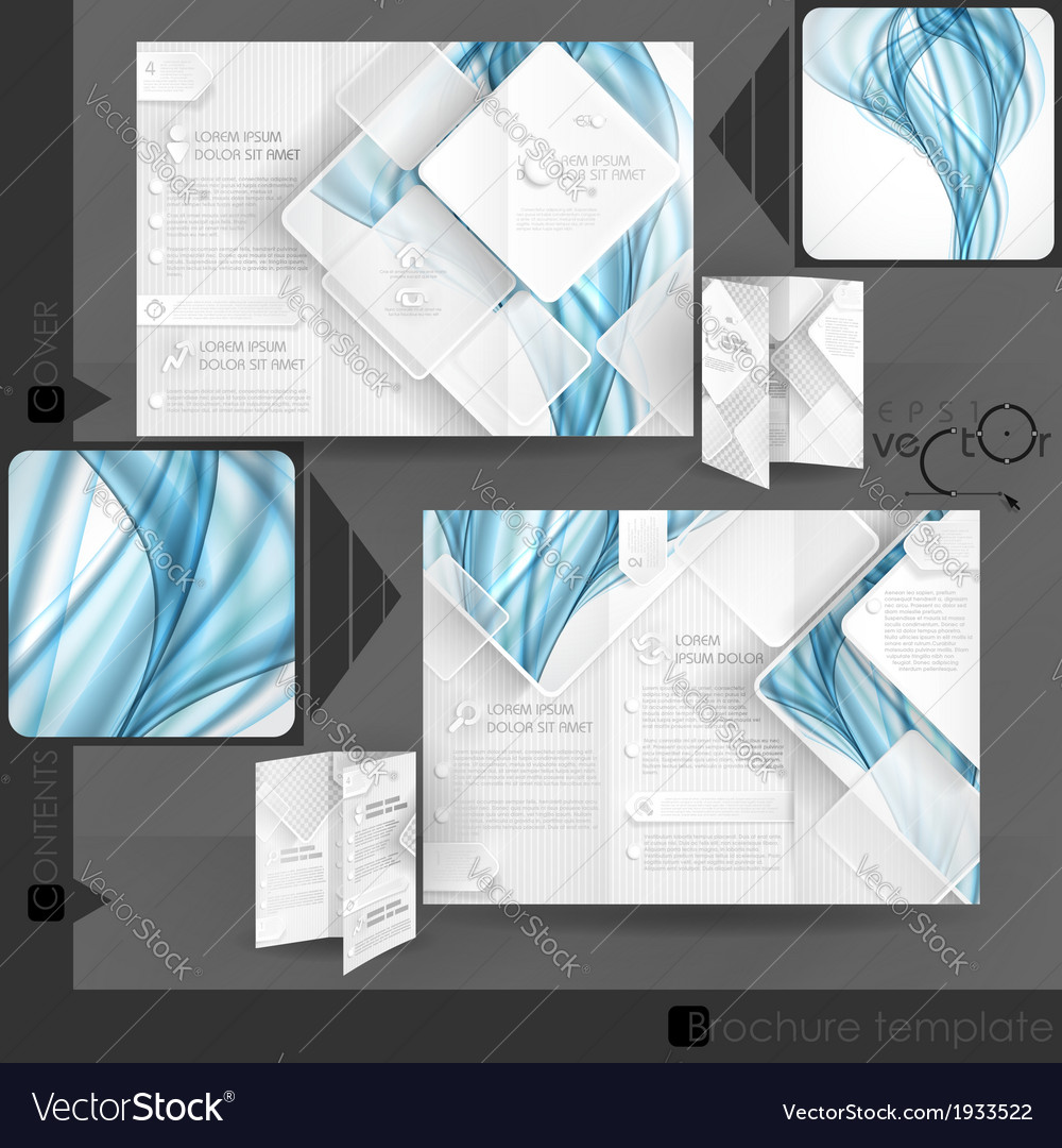 Business brochure template design vector | Price: 1 Credit (USD $1)
