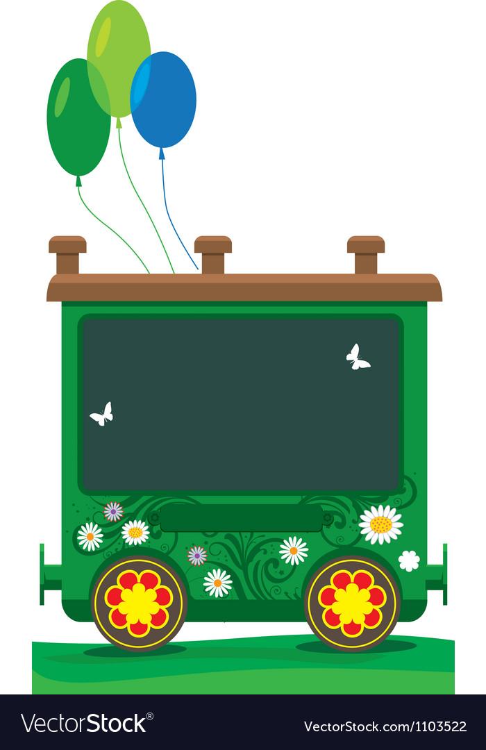 Children train 05 vector | Price: 1 Credit (USD $1)