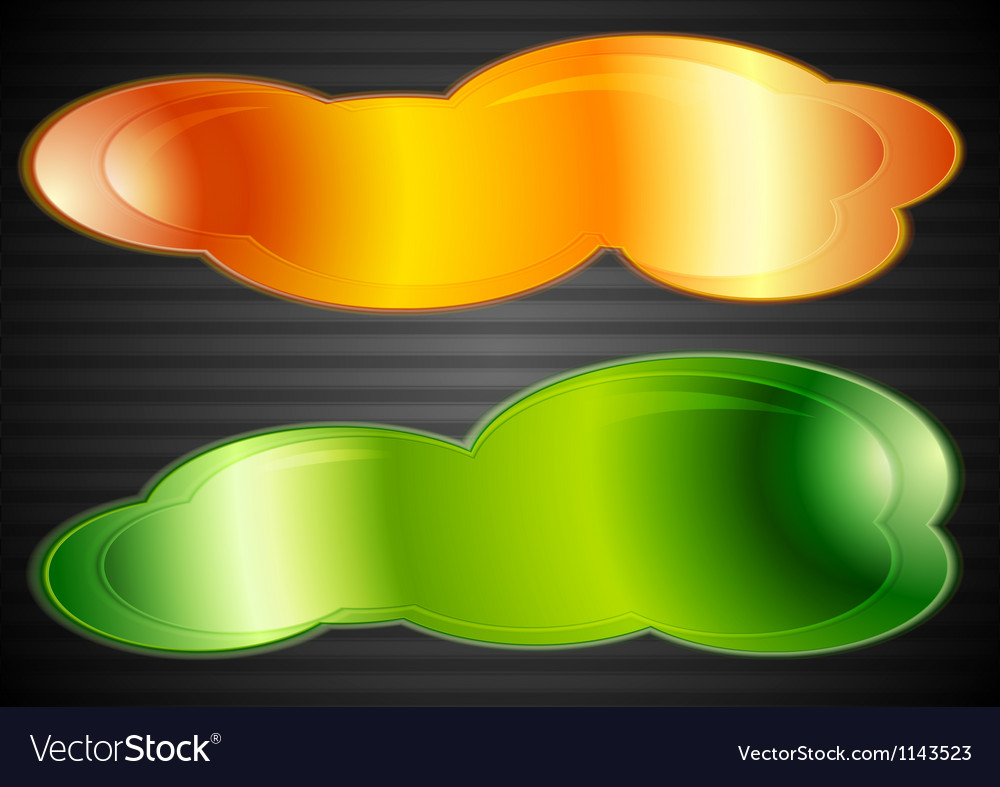 Colourful abstract web elements vector | Price: 1 Credit (USD $1)