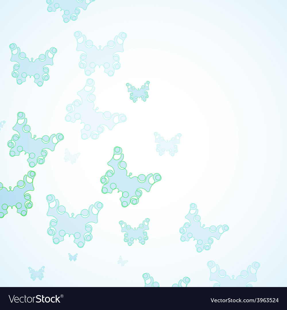 Abstract butterfly background vector   Price: 1 Credit (USD $1)