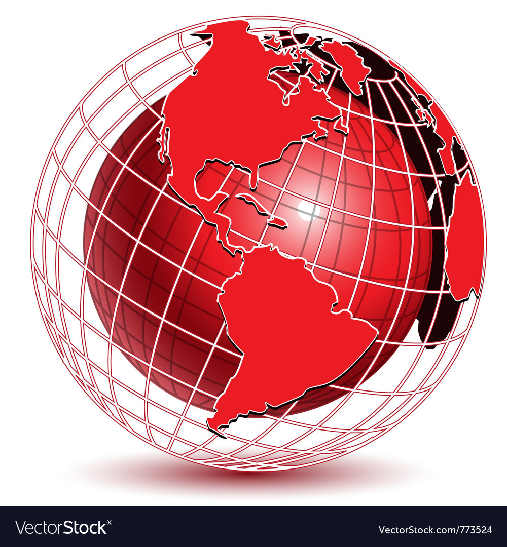 Abstract globe icon vector | Price: 1 Credit (USD $1)