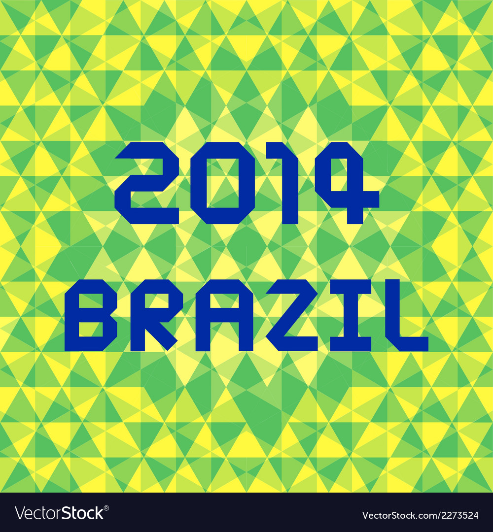 Brazil2014 background5 vector | Price: 1 Credit (USD $1)