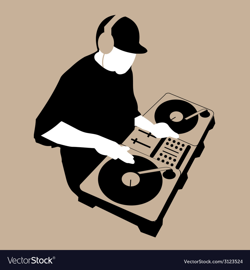 Dj scratch vector | Price: 1 Credit (USD $1)