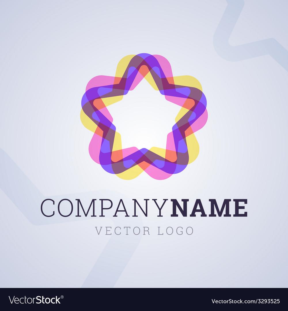 Company logo template vector | Price: 1 Credit (USD $1)