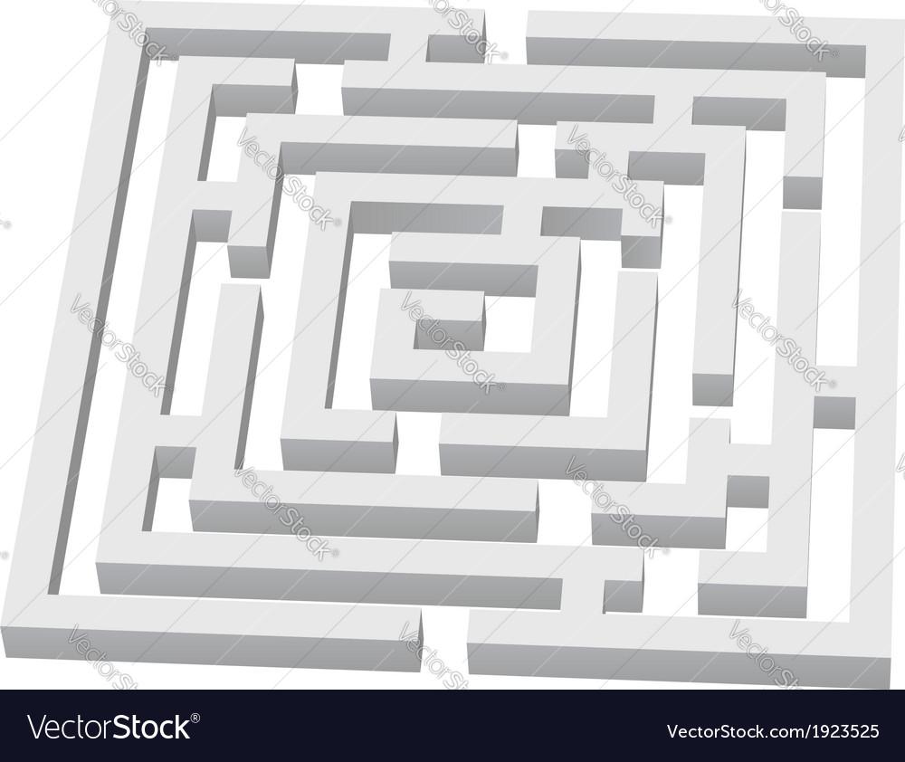 Labyrinth vector | Price: 1 Credit (USD $1)