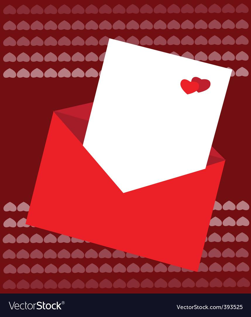 Valentines card vector | Price: 1 Credit (USD $1)