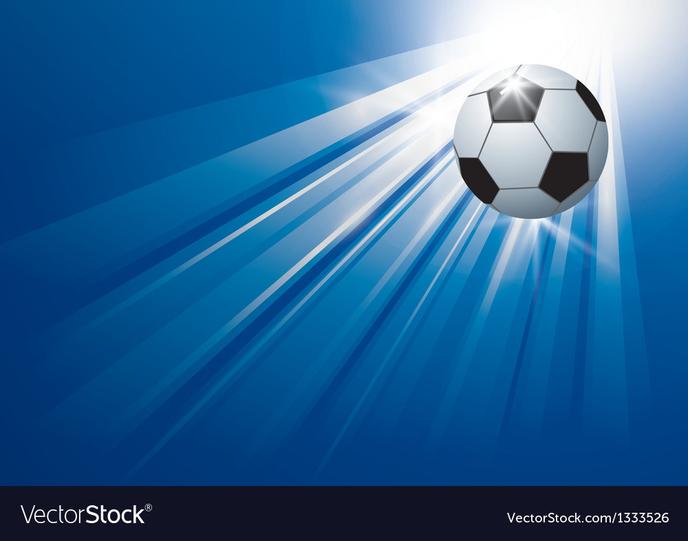 Football background design vector