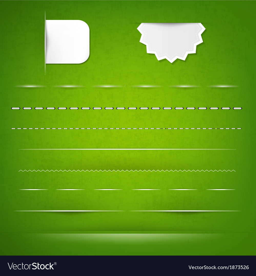 Green texture with dividers vector | Price: 1 Credit (USD $1)