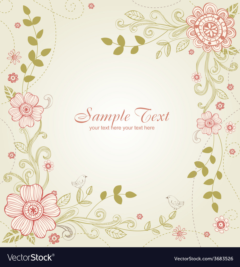 Greeting card for wedding or valentines day vector | Price: 1 Credit (USD $1)