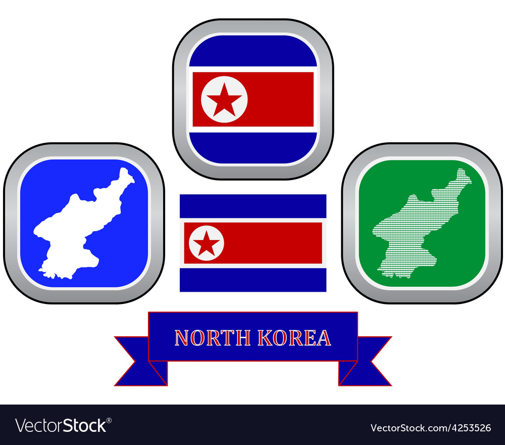 Symbol of north korea vector | Price: 1 Credit (USD $1)