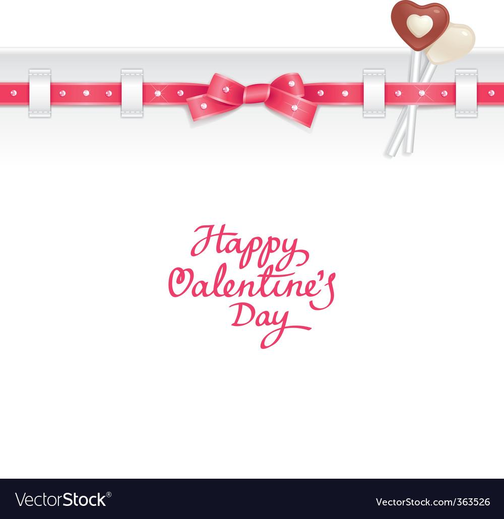 Valentine candy background vector   Price: 1 Credit (USD $1)