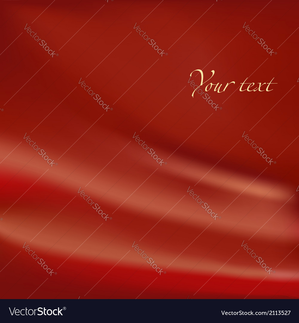 Abstract background red material with folds vector | Price: 1 Credit (USD $1)