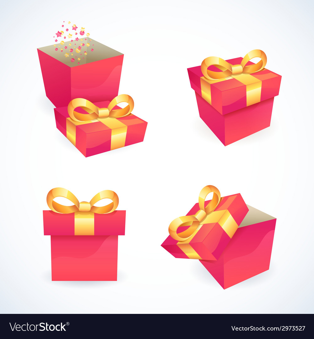 Box and package icons vector | Price: 1 Credit (USD $1)