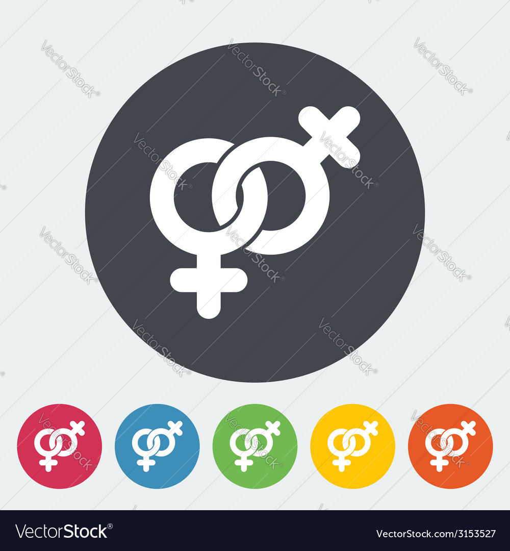 Lesbian sign vector | Price: 1 Credit (USD $1)